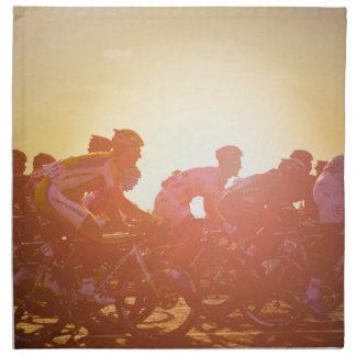 Tour De France Sunset Napkin