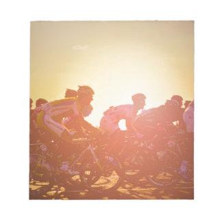 Tour De France Sunset Notepad