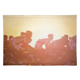 Tour De France Sunset Placemat