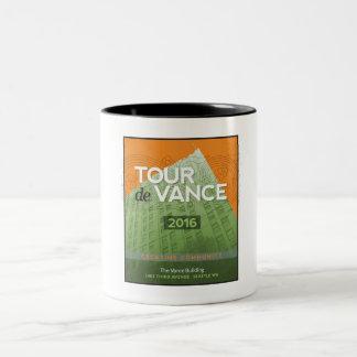 Tour de Vance 2016 Two-Tone Mug