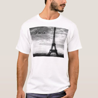 Tour Eiffel Paris - Sunset in Black & White (St.K) T-Shirt