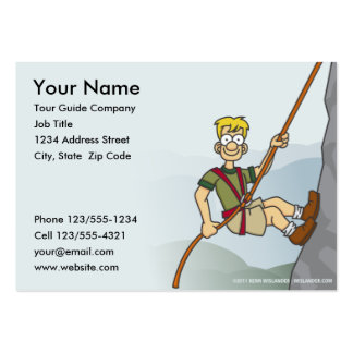 Tour Guide Business Card