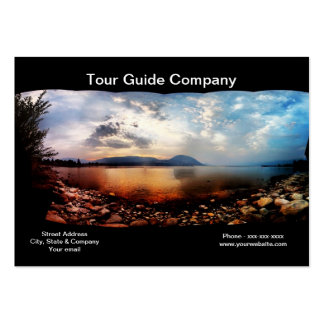 Tour Guide Company Business Card