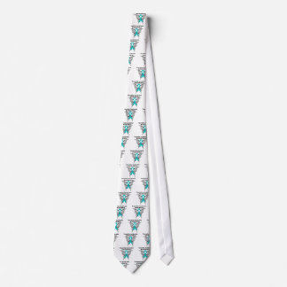 Tourette Syndrome Awareness Tattoo Butterfly Tie