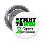 Tourette's Syndrome IN THE FIGHT TO WIN Button