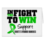Tourette's Syndrome IN THE FIGHT TO WIN Cards