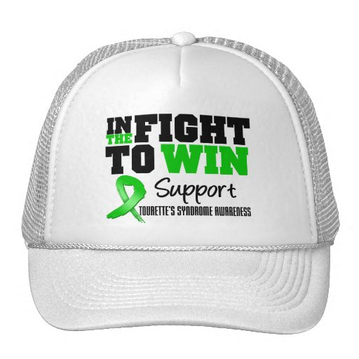 Tourette's Syndrome IN THE FIGHT TO WIN Trucker Hat