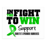 Tourette's Syndrome IN THE FIGHT TO WIN Postcard