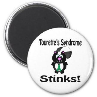 Tourettes Syndrome Stinks Skunk Awareness Design Refrigerator Magnets