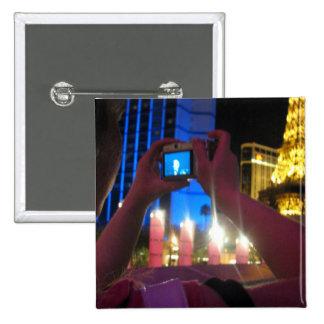 Tourist 15 Cm Square Badge