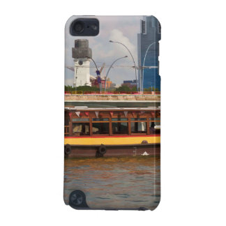 Tourist boat in Singapore on the river iPod Touch 5G Cases