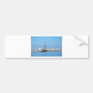 Tourist Boat On The Algarve Bumper Sticker