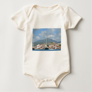 Tourist Boats In Turkey Baby Bodysuit