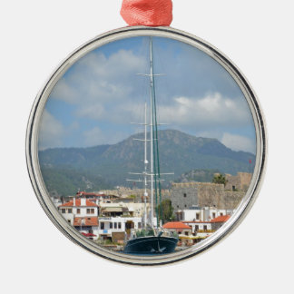 Tourist Boats In Turkey Christmas Ornament