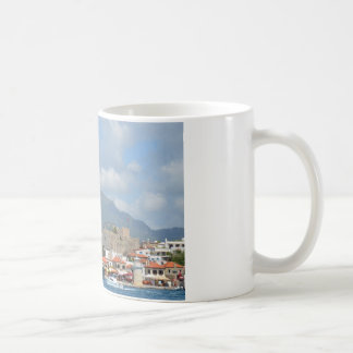 Tourist Boats In Turkey Coffee Mug