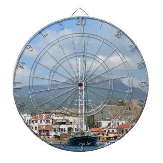 Tourist Boats In Turkey Dartboard