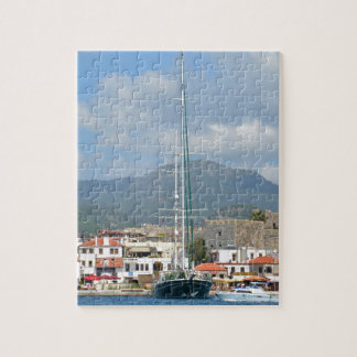 Tourist Boats In Turkey Jigsaw Puzzle