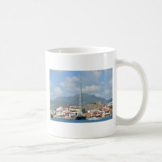 Tourist Boats In Turkey Coffee Mug