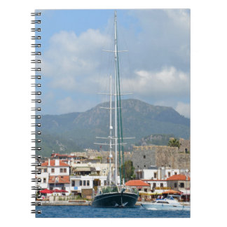 Tourist Boats In Turkey Notebook