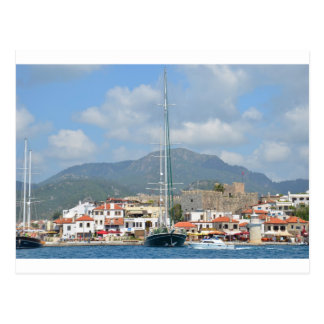 Tourist Boats In Turkey Postcard