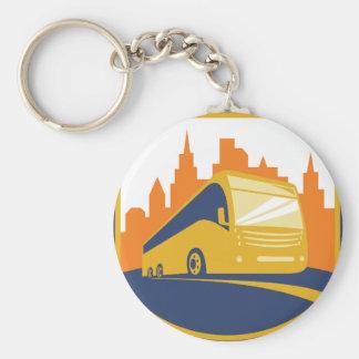 Tourist Bus Keychain