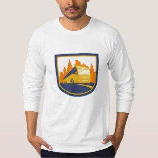 Tourist Coach Shuttle Bus Retro Shirt