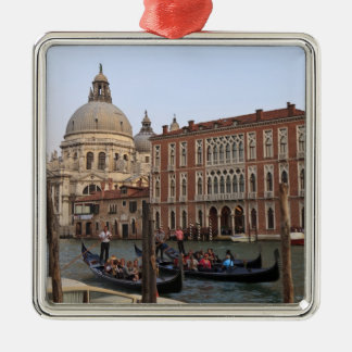 Tourist in Gondolas from San Maria Del Giglio Christmas Ornament