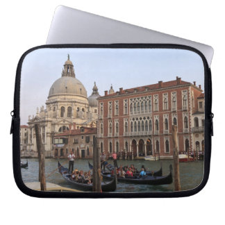 Tourist in Gondolas from San Maria Del Giglio Laptop Sleeve
