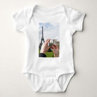 Tourist in Paris Baby Bodysuit