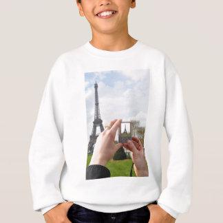 Tourist in Paris Sweatshirt