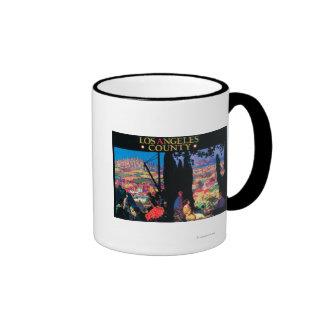 Tourist Poster 2 Coffee Mug