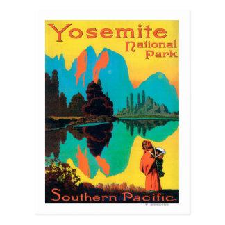 Tourist Poster - Yosemite Nat l Park CA Post Cards