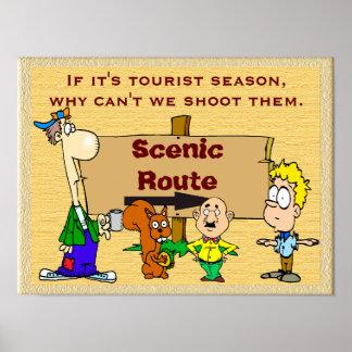 Tourist Season - poster