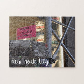 Tourist Shop New York City NYC Urban Photography Jigsaw Puzzle