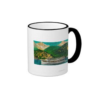 Tourist Steamer on Diablo lake, Skagit Mug