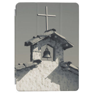 Tourist town, village chapel iPad air cover
