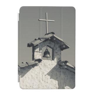 Tourist town, village chapel iPad mini cover