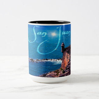 Tourist Two-Tone Coffee Mug