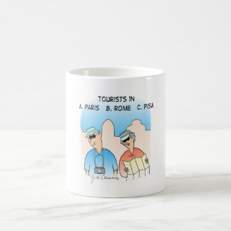 Tourists Basic White Mug