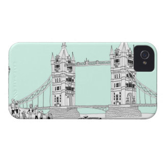 Tourists by Railing iPhone 4 Covers