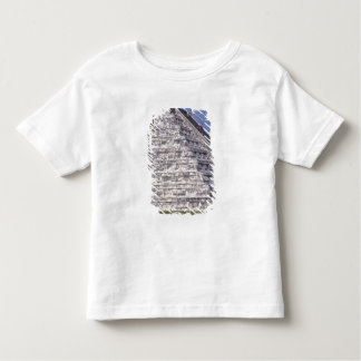 Tourists climbing stairs of El Castillo, stone Toddler T-Shirt