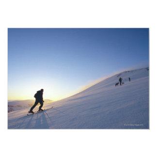 Tourists on Mountain Card