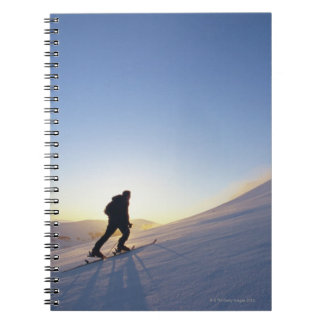 Tourists on Mountain Notebook