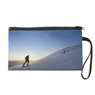 Tourists on Mountain Wristlet