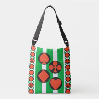 TOURNAMENT CARTOON All-Over-Print Cross BodyMEDIUM Crossbody Bag