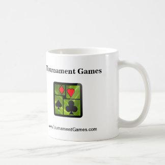 Tournament Games | Coffee Mug (Green/White)