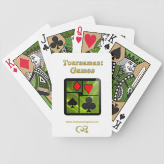 Tournament Games Playing Cards Green