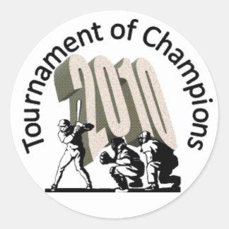 Tournament of Champions sticker - 2010