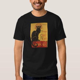 Tournee du Chat Noir 1896 Cabaret Poster Tee Shirts