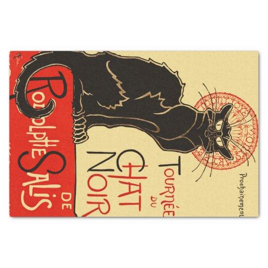 Tournée du Chat Noir Art Nouveau Tissue Paper